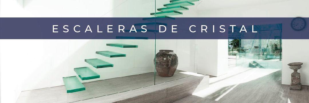 escaleras de cristal de todo tipo, nos adaptamos a tu proyecto en Madrid